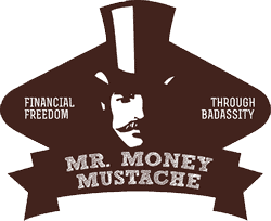 Mr. Money Mustache logo for FI School