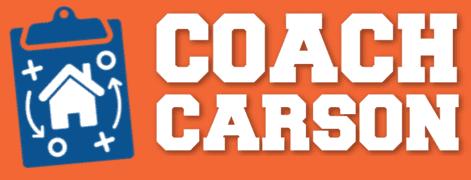 Coach Carson logo for FI School