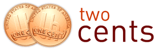 Two Cents logo for FI School
